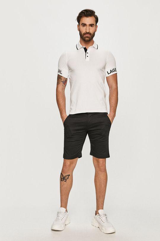 Karl Lagerfeld - Polo biały