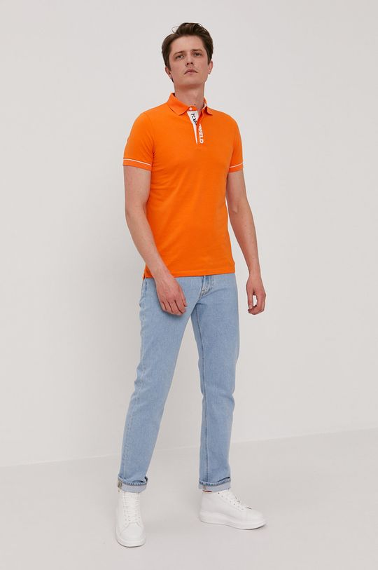Karl Lagerfeld - Polo pomarańczowy
