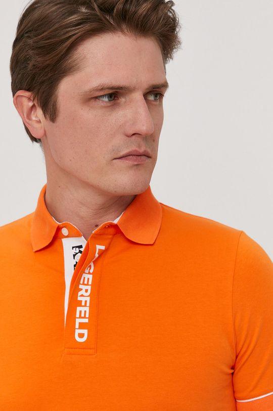 pomarańczowy Karl Lagerfeld - Polo