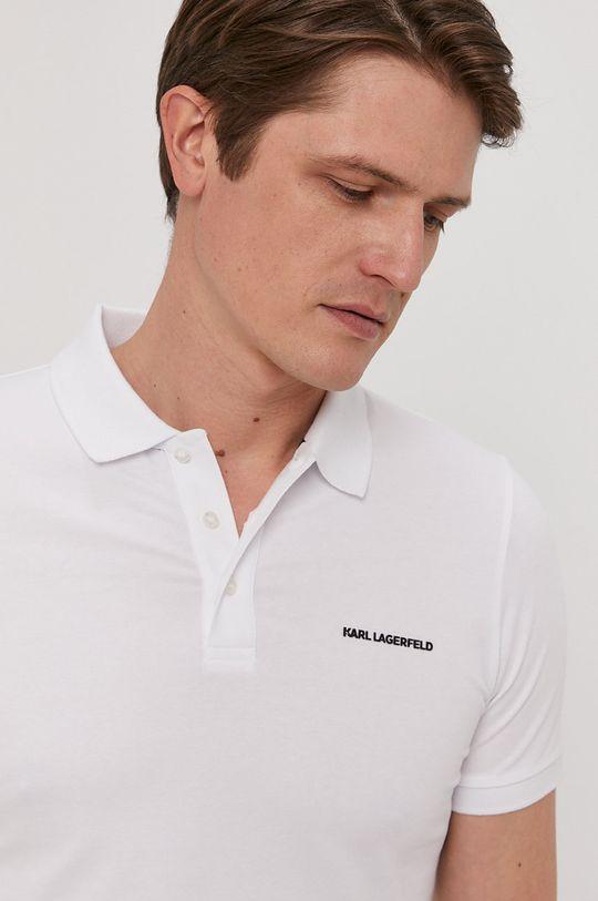 biały Karl Lagerfeld - Polo