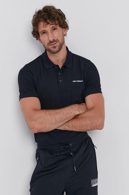 bleumarin Karl Lagerfeld - Tricou Polo De bărbați