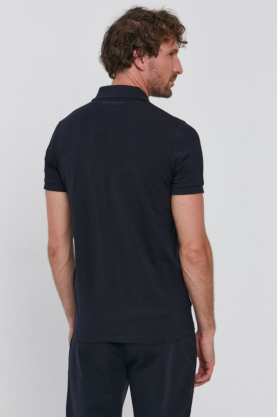 Karl Lagerfeld - Tricou Polo  95% Bumbac, 5% Elastan