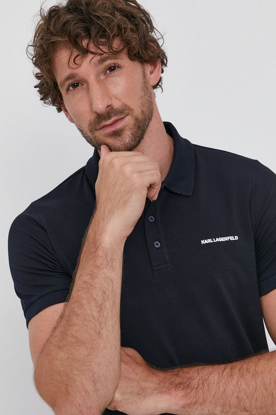 bleumarin Karl Lagerfeld - Tricou Polo