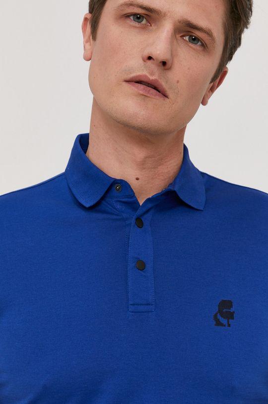 niebieski Karl Lagerfeld - Polo