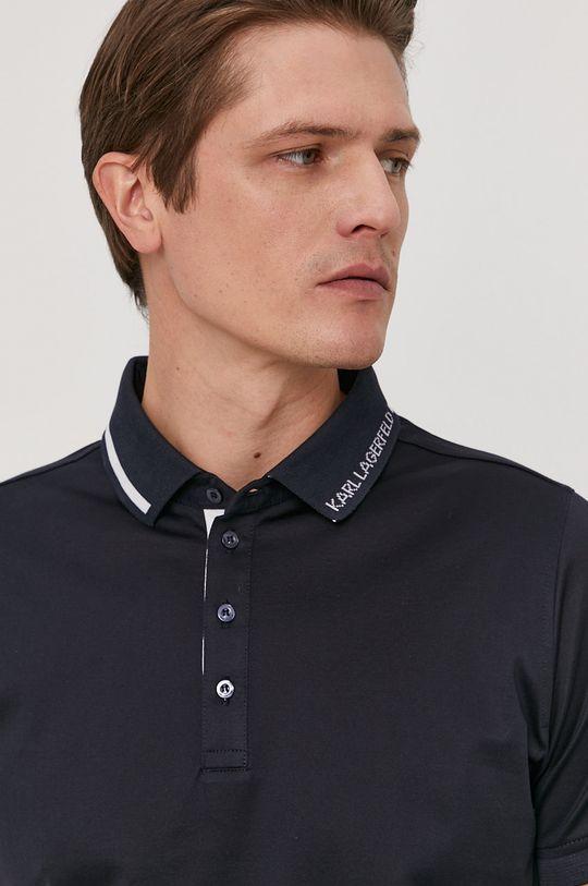 námořnická modř Karl Lagerfeld - Polo tričko