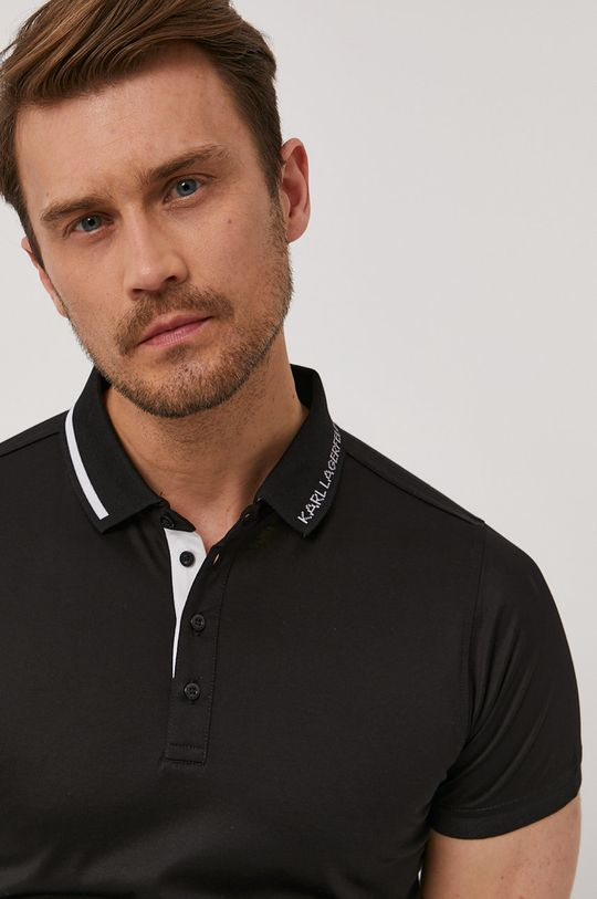czarny Karl Lagerfeld - Polo