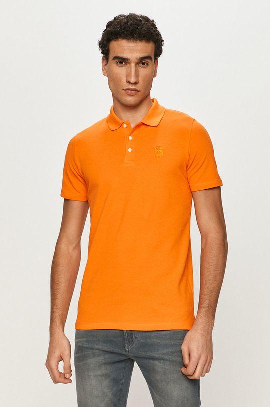 pomarańczowy Karl Lagerfeld - Polo Męski