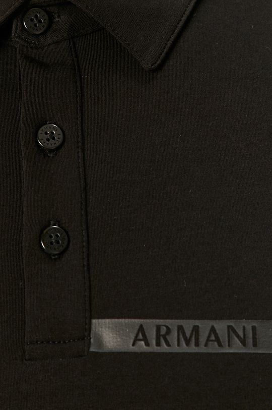 čierna Armani Exchange - Polo tričko