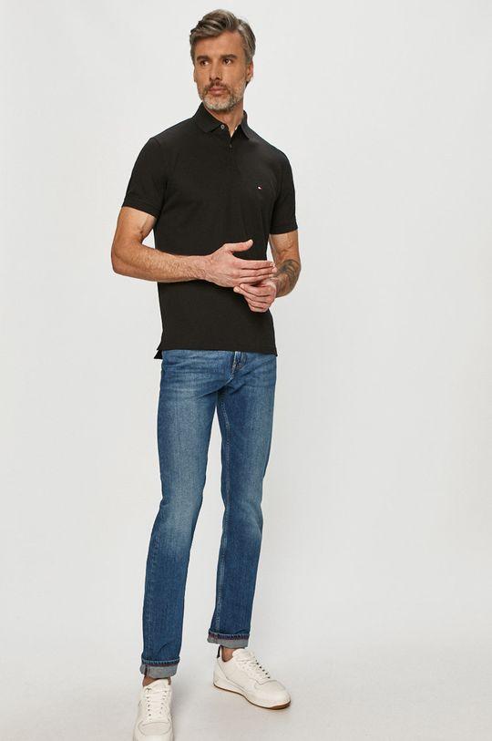 Tommy Hilfiger - Polo tričko čierna