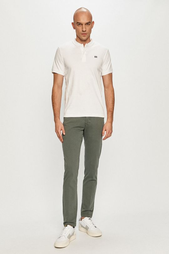 Tommy Hilfiger - Polo tričko biela