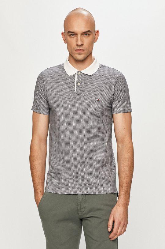 čierna Tommy Hilfiger - Polo tričko