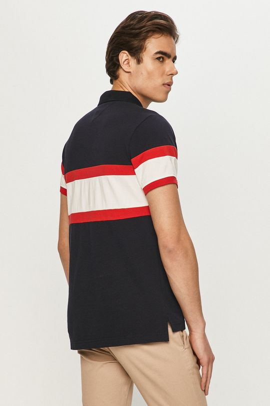 Tommy Hilfiger - Тениска с яка  100% Памук