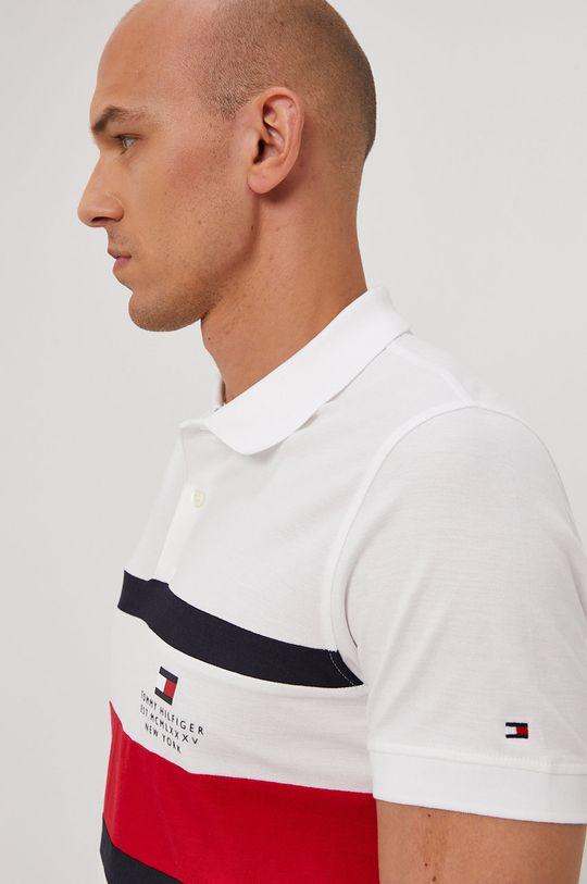 bílá Tommy Hilfiger - Polo tričko