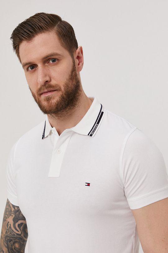 biela Tommy Hilfiger - Polo tričko