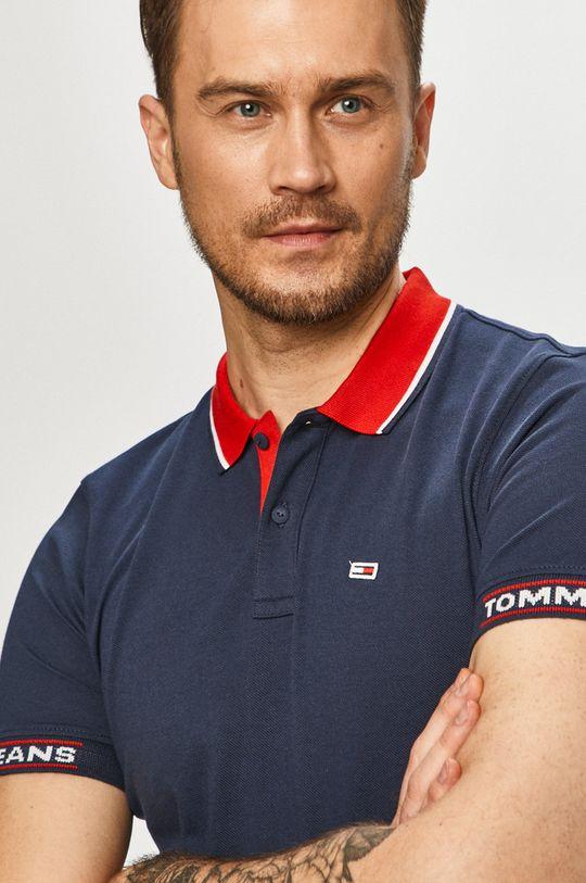 tmavomodrá Tommy Jeans - Polo tričko