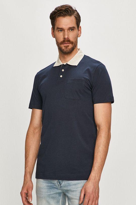 tmavomodrá Selected - Polo tričko