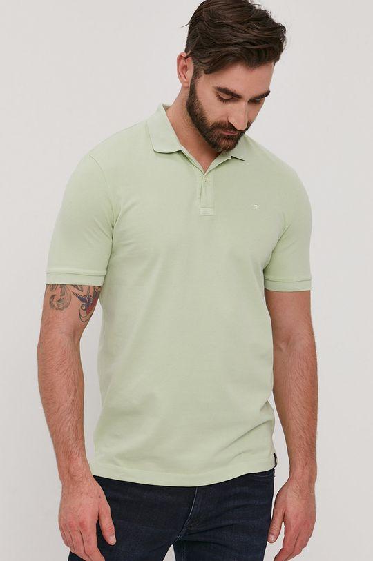 zelená Scotch & Soda - Polo tričko Pánsky