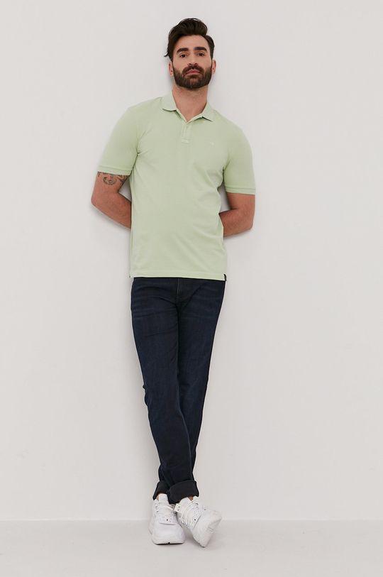 Scotch & Soda - Polo tričko zelená