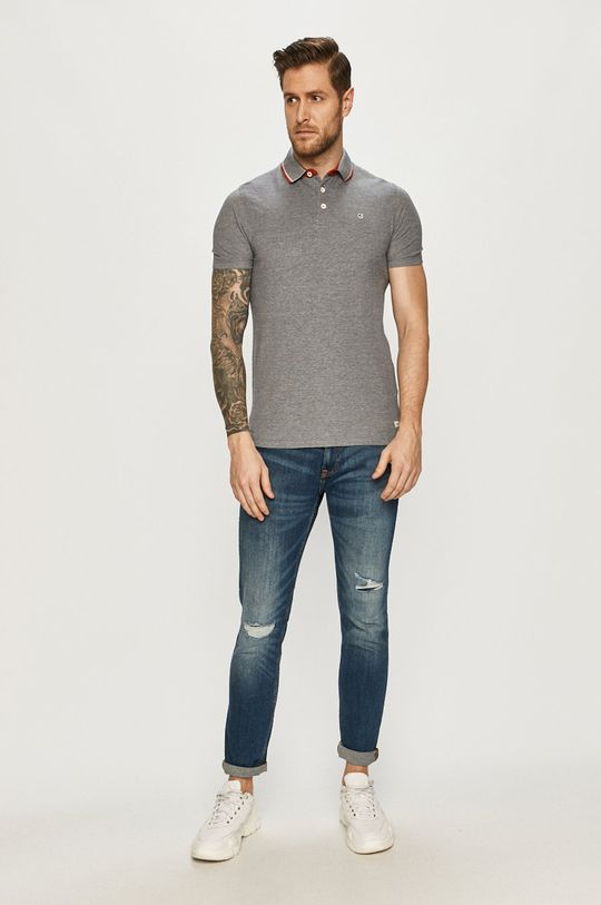 Produkt by Jack & Jones - Polo tričko námořnická modř