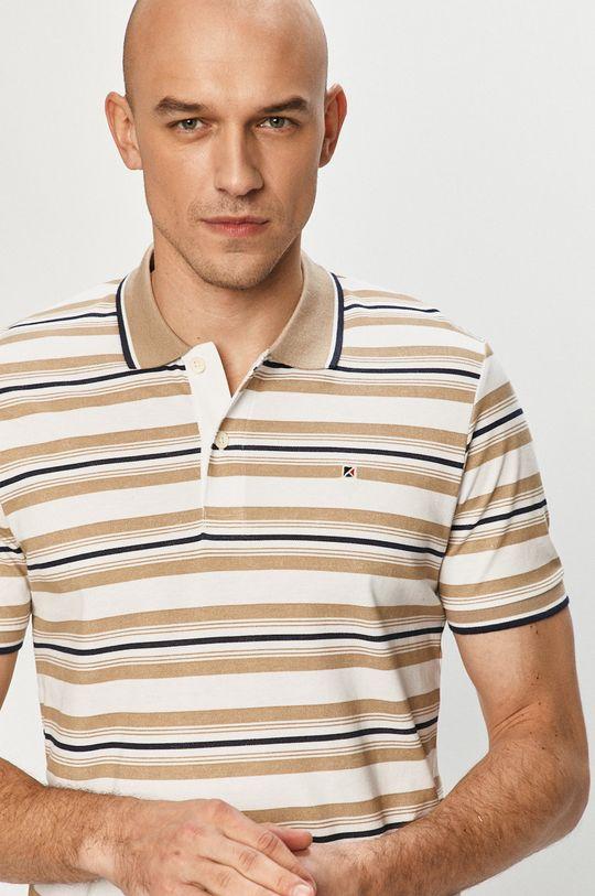 béžová Produkt by Jack & Jones - Polo tričko Pánsky