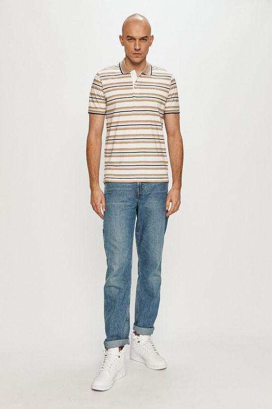 Produkt by Jack & Jones - Polo tričko béžová