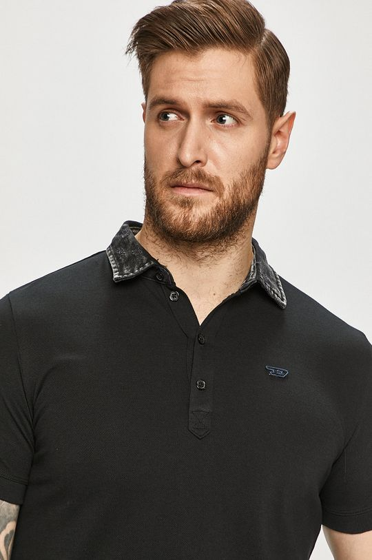 čierna Diesel - Polo tričko