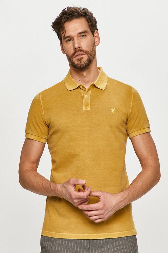 horčicová Marc O'Polo - Polo tričko Pánsky
