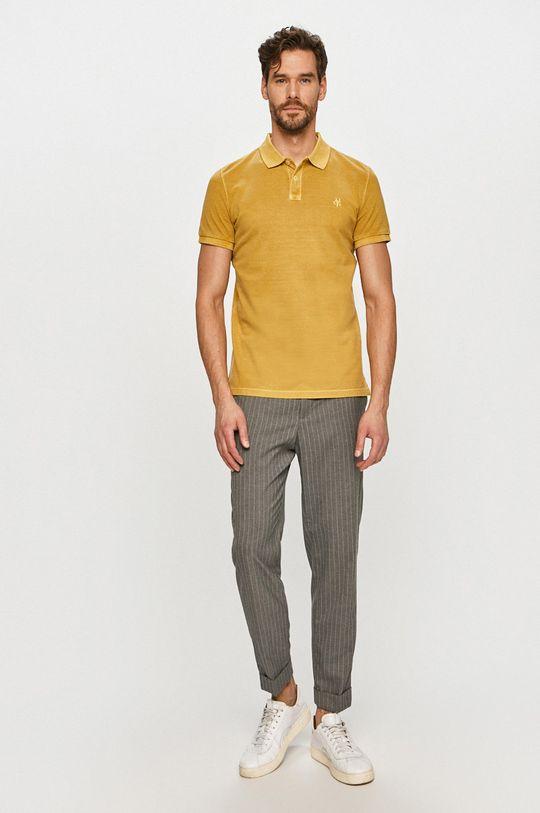 Marc O'Polo - Polo tričko horčicová