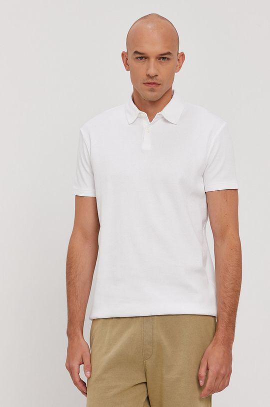 biały Marc O'Polo - Polo Męski