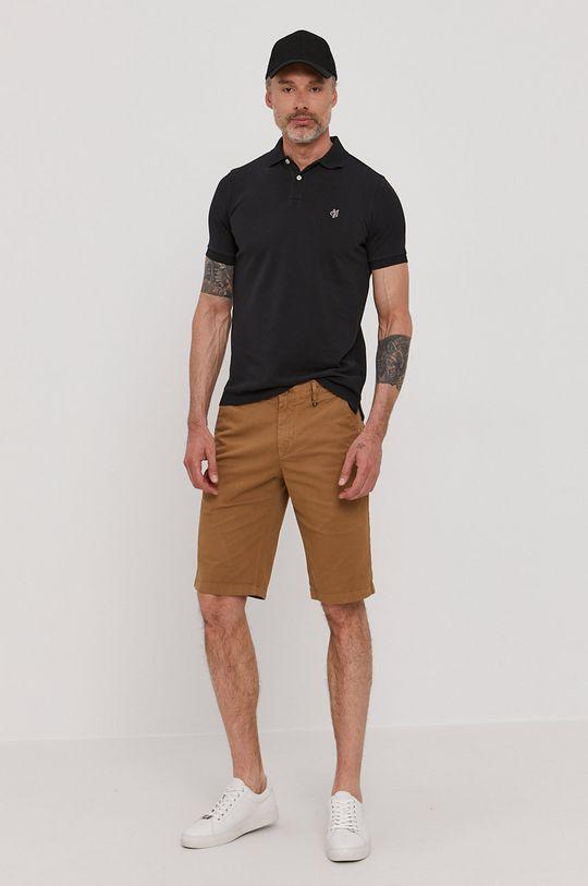 Marc O'Polo - Polo tričko čierna