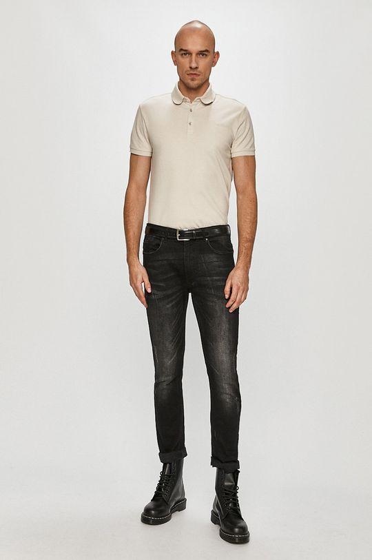 Trussardi Jeans - Polo tričko svetlosivá