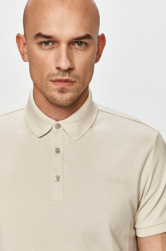 svetlosivá Trussardi Jeans - Polo tričko