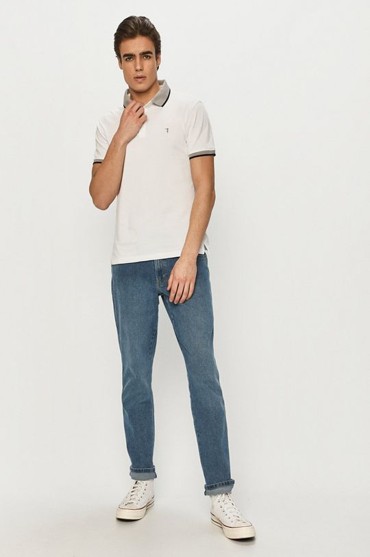 Trussardi Jeans - Polo biały