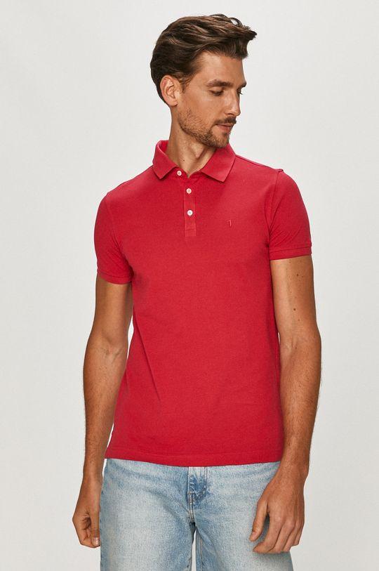 ružová Trussardi Jeans - Polo tričko Pánsky