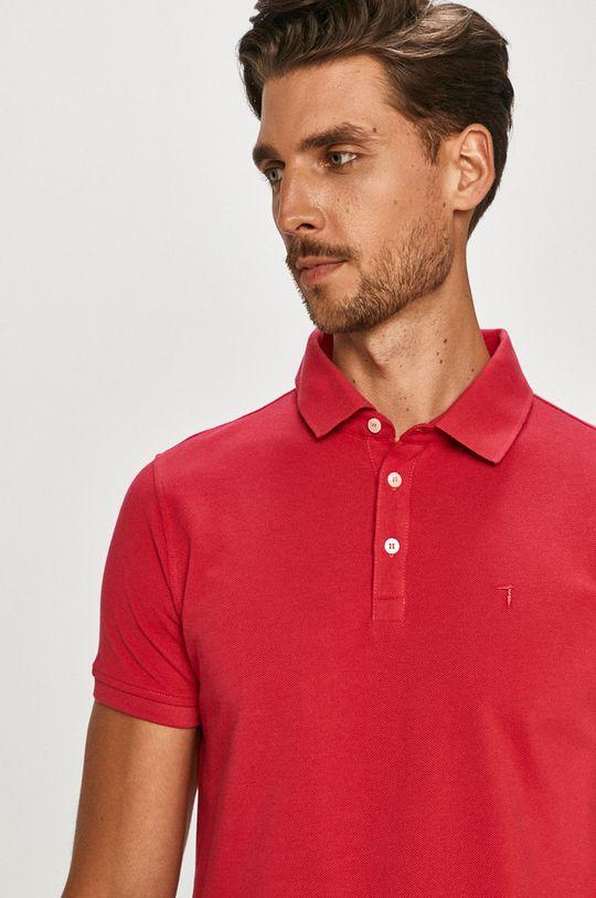 ružová Trussardi Jeans - Polo tričko