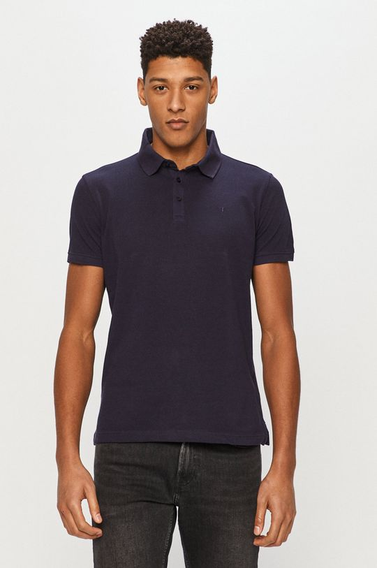 tmavomodrá Trussardi Jeans - Polo tričko Pánsky