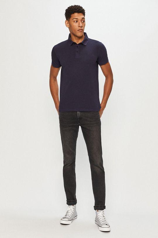 Trussardi Jeans - Polo tričko tmavomodrá