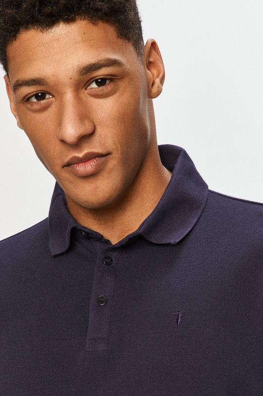 tmavomodrá Trussardi Jeans - Polo tričko