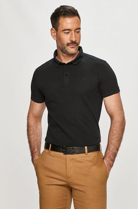 černá Trussardi Jeans - Polo tričko Pánský
