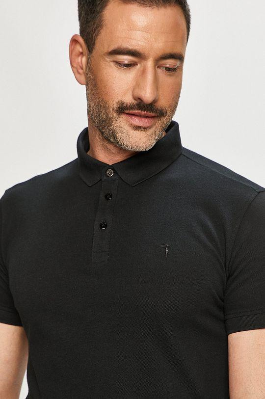 černá Trussardi Jeans - Polo tričko