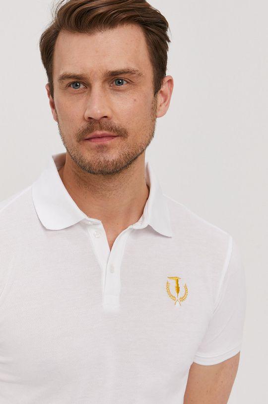 biela Trussardi Jeans - Polo tričko