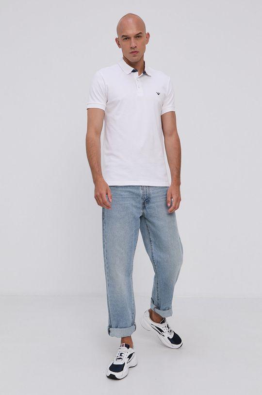 Emporio Armani - Polo tričko biela