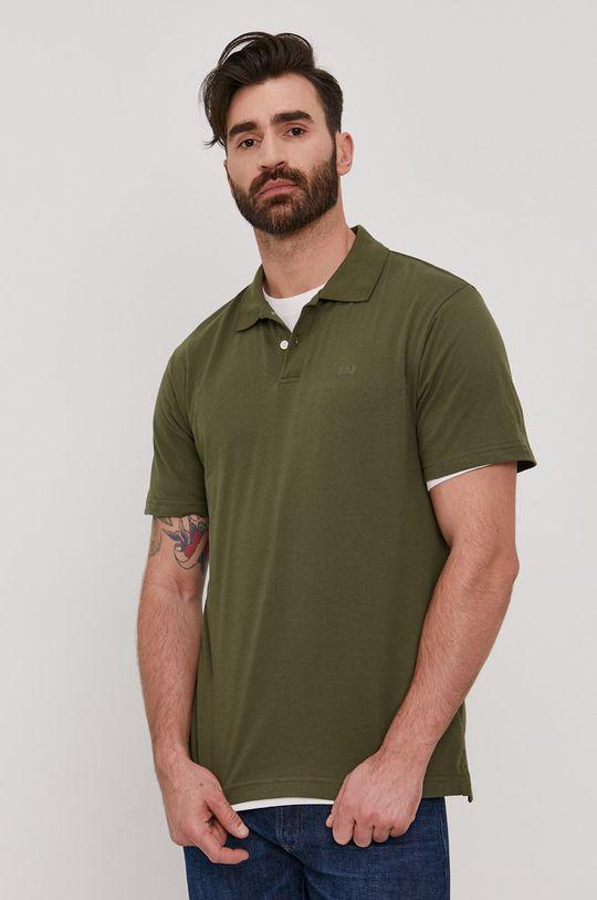 brązowa zieleń GAP - Polo Męski