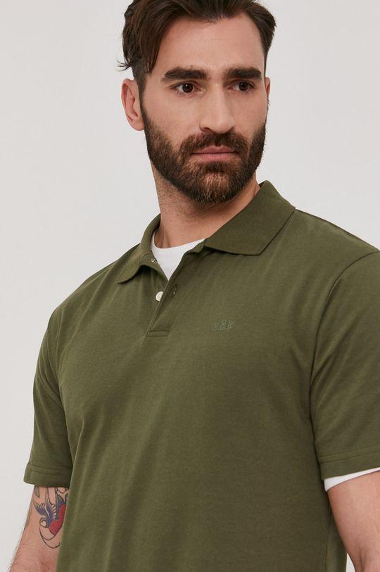 brązowa zieleń GAP - Polo