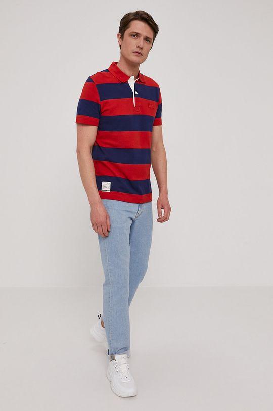 Lacoste - Tricou Polo bleumarin