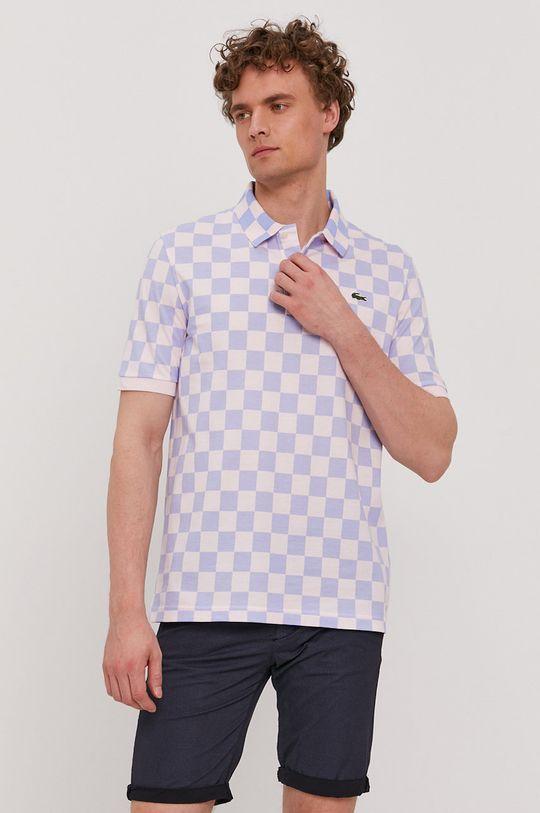 ružová Lacoste - Polo tričko Pánsky