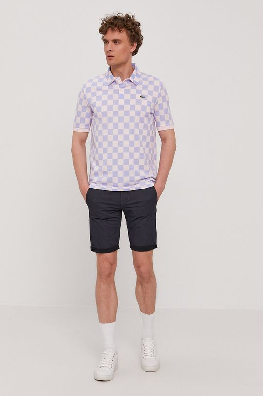 Lacoste - Polo tričko ružová