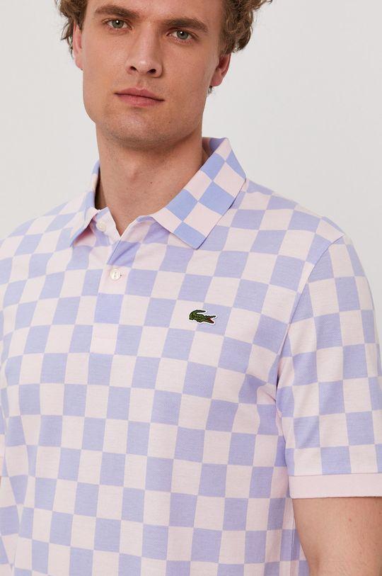 ružová Lacoste - Polo tričko