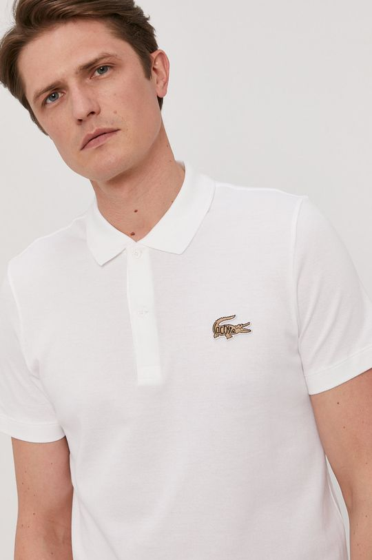 biały Lacoste - Polo Męski