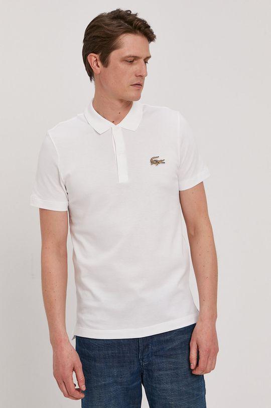 biały Lacoste - Polo